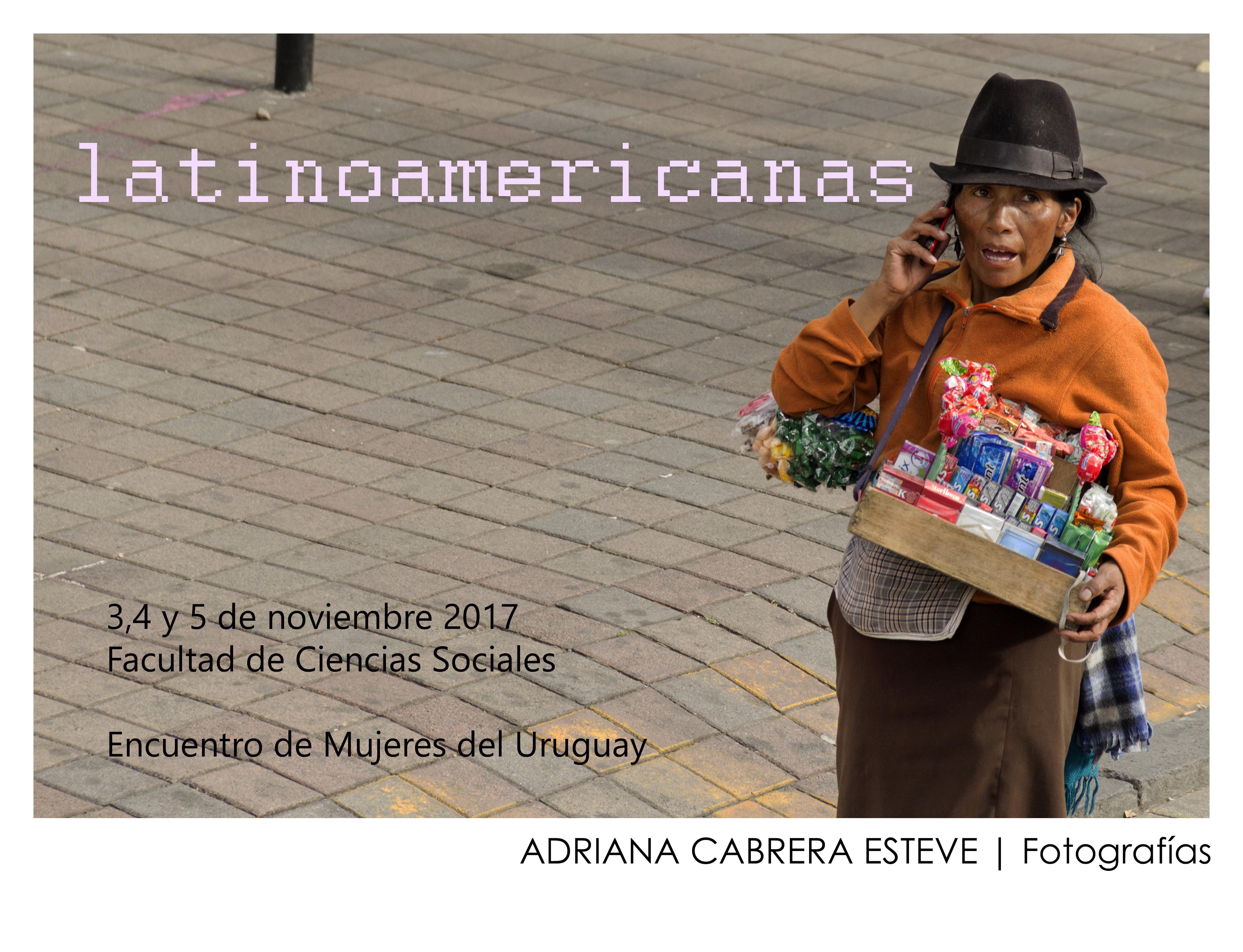 Afiche latinoamericanas